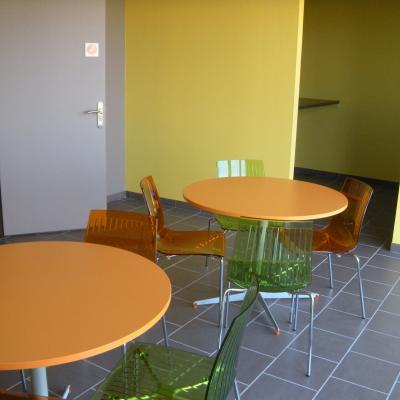 Salle de détente - Hôtel d'entreprises à Cohade