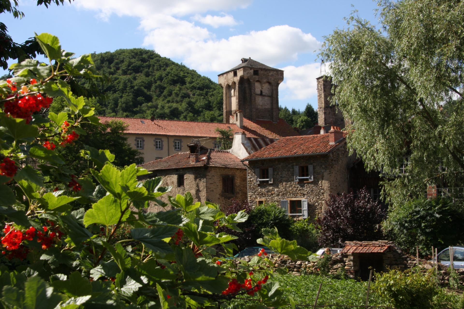 Village de Blesle sur Allagnon