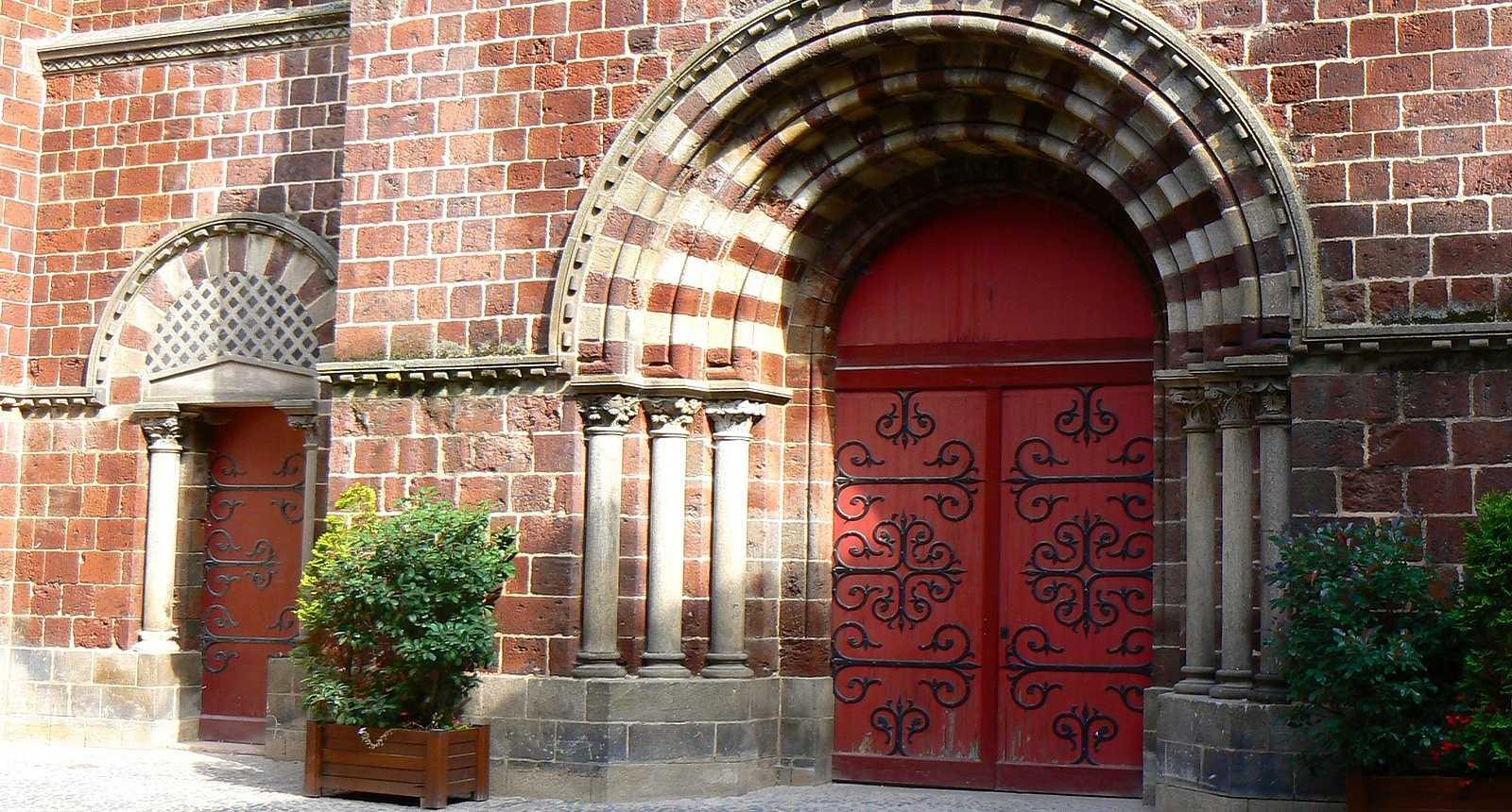 Portail basilique saint Julien Brioude